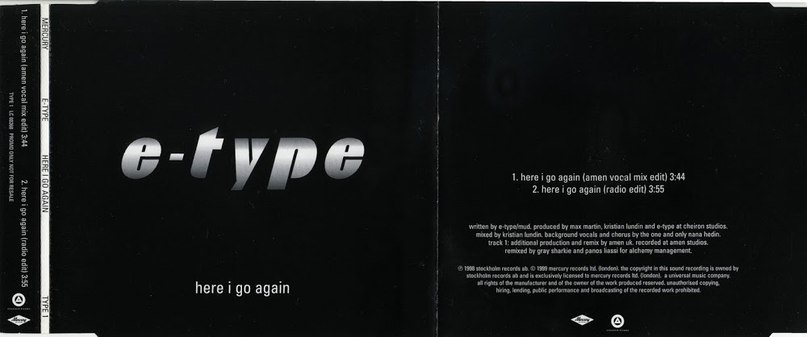 E-Type - Here I Go Again 90-ые