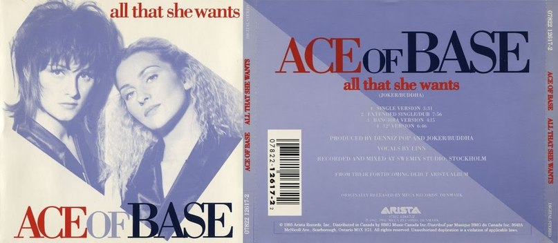 All 4 U Ace of base