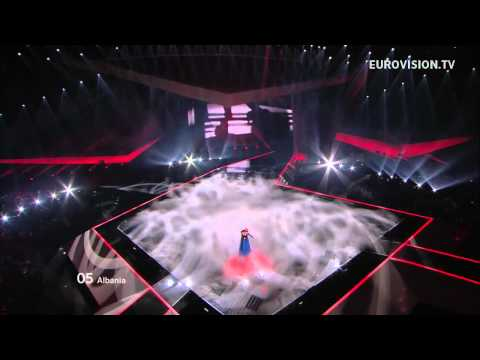 Rona Nishliu - Suus - Live - 2012 Eurovision Song Contest Semi Final 1