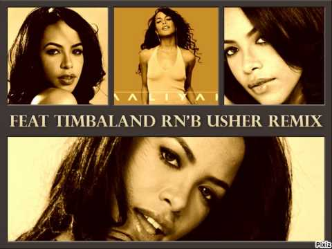 AALIYAH feat Timbaland Try Again vs USHER RNB REMIX