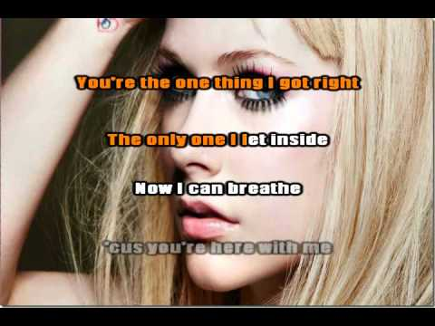 Avril Lavigne - I Will Be Karaoke / Instrumental