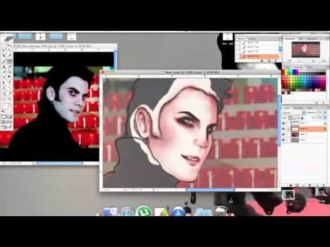 [ SPEED PAINT ]  Wes Bentley {BLACK HEART,GHOST RIDER}