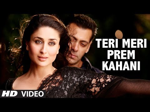 """Teri Meri Prem Kahani Bodyguard"" (Video Song) Feat. 'Salman khan'"