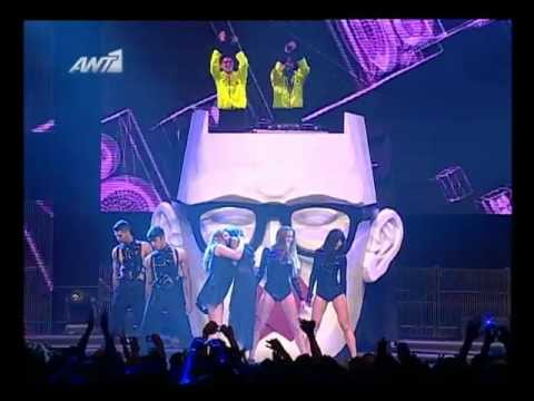 PLAYMEN Feat. HELENA PAPARIZOU, COURTNEY & RISKYKIDD - ALL THE TIME | LIVE @ VMA 2012 by Vodafone