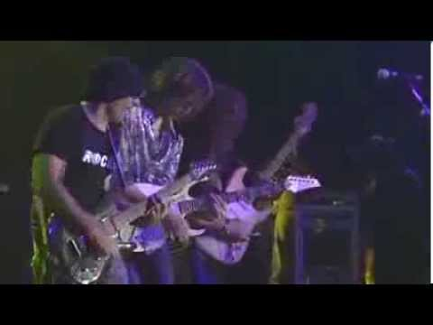 G3 - Joe Satriani, Steve Vai, Yngwie Malmsteen - Voodoo Child (Live In Denver 2003)