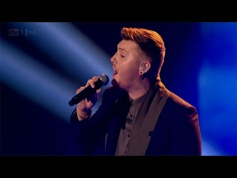 James Arthur sings Shontelle's Impossible - The Final - The X Factor UK 2012