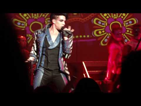 Adam Lambert STRUT Glam Nation Tour (Louisville) HD