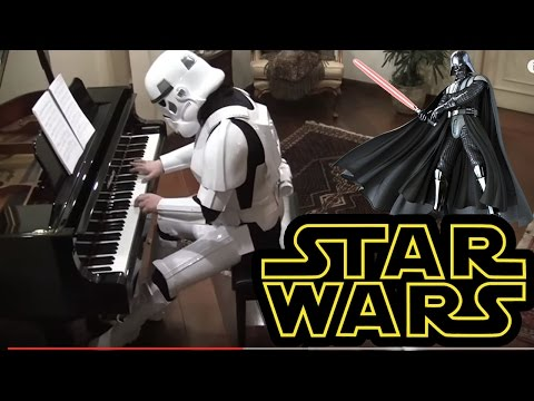 Imperial March (Darth Vader's Theme from Star Wars) Piano Transcription