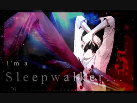 (NIGHTCORE) Sleepwalker - Adam Lambert [LYRICS IN DES.]