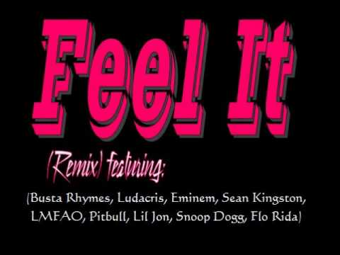 Feel It (Remix) (ft. Busta Rhymes, Ludacris, Eminem, LMFAO, Pitbull, Lil Jon, Snoop Dogg, Flo Rida)