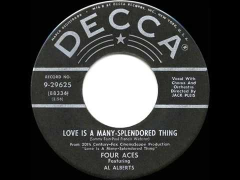 1955 HITS ARCHIVE: Love Is A Many-Splendored Thing - Four Aces (a #1 record)