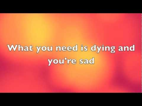 Broken Jaw  - Foster the People (lyrics on screen)