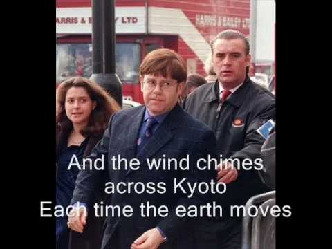 Elton John- Japanese Hands (with lyrics)
