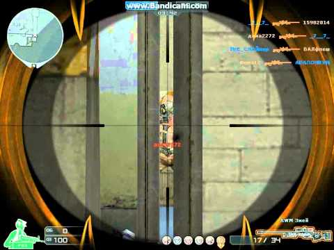 Первая моя игра с awm vip тюрьма CrossFire _ My first game with awm vip prison CROSSFIRE...