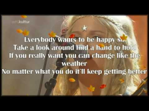Katzenjammer - - Rock Paper Scissors - - Lyrics -- live