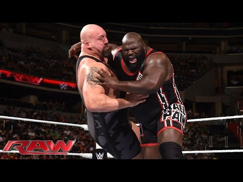 Mark Henry vs. Big Show: Raw, June 29, 2015