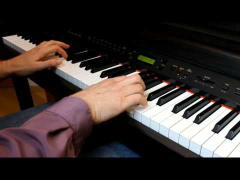 A-ha - There's Never A Forever Thing - Piano Solo - Revisited - HD