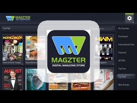Magzter - Magazine store by Magzter Inc. Video Review
