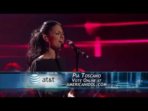 Pia Toscano - All in Love Is Fair - American Idol Top 11 - 03/23/11