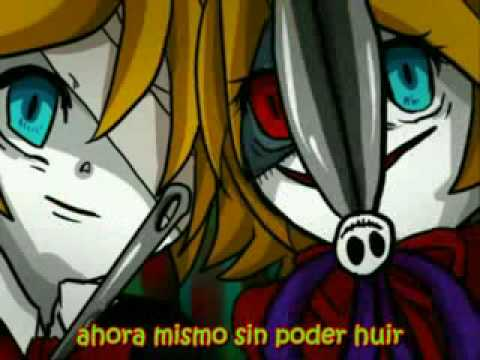 trick and treat español latino horror version vocaloid kagamine rin and len