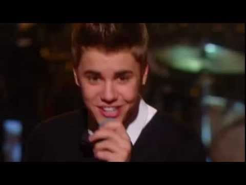 Justin Bieber Under The Mistletoe Live X Factor USA 2011 UK