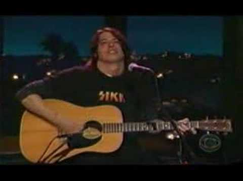 Foo Fighters - Tiny Dancer (live on Kilborn)