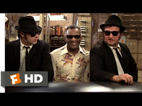 Blues Brothers and Ray Charles SHAKE A TAIL FEATHER